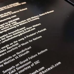 コピペOK!音楽CD制作で記載するスタッフクレジット表記例サンプル